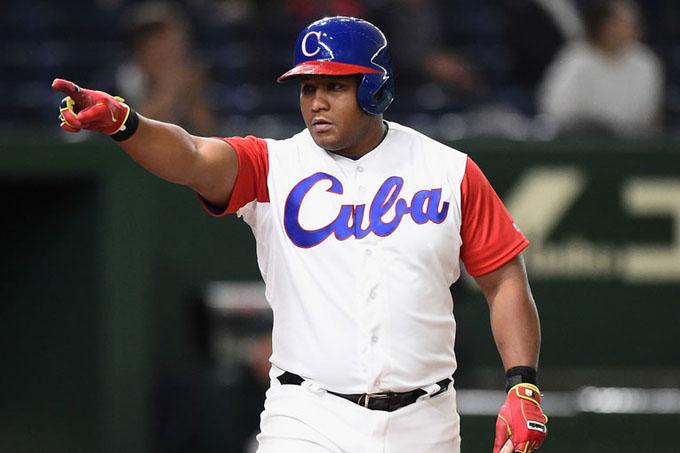 Beisbolista cubano Alfredo Despaigne recibe segundo voto en encuesta