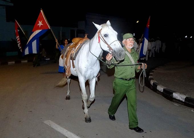 Realizan en Bayamo velada en homenaje a Fidel (+ fotos y videos)