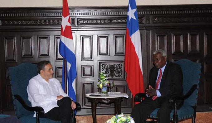 Cuba y Chile abogan por ampliar sus relaciones