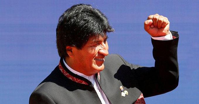 Evo Morales viaja a Brasil