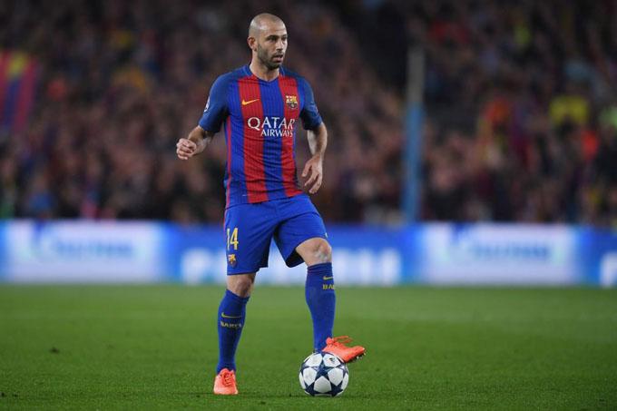 Acuerdo total para salida de Mascherano del Barcelona rumbo a China