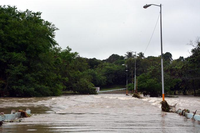 Aportan lluvias recientes cerca de 90 millones de metros cúbicos de agua (+ fotos y audio)