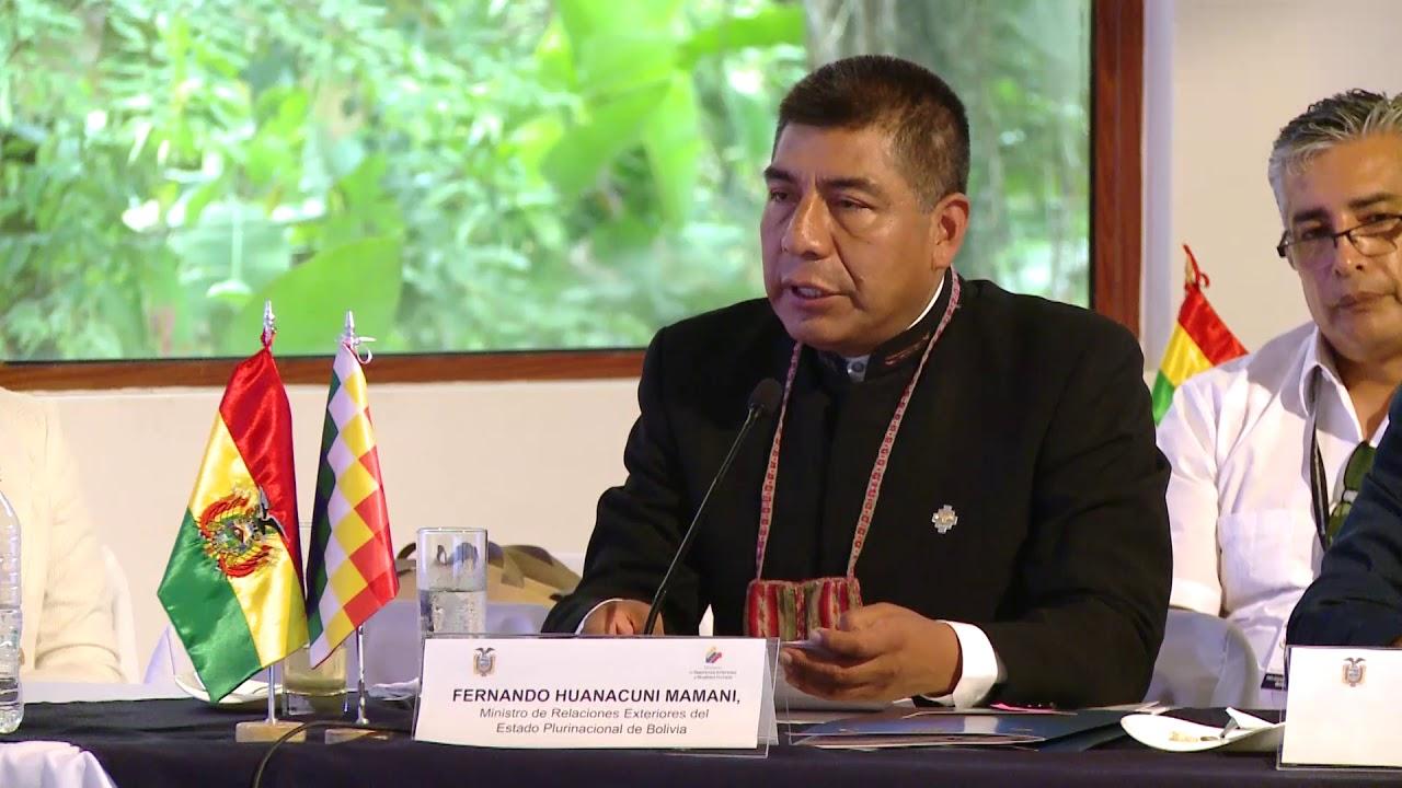 Canciller resalta logros de Bolivia en gestión 2017