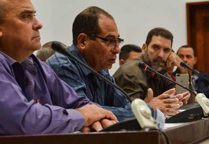 Concluyó debate en comisiones en el Parlamento cubano