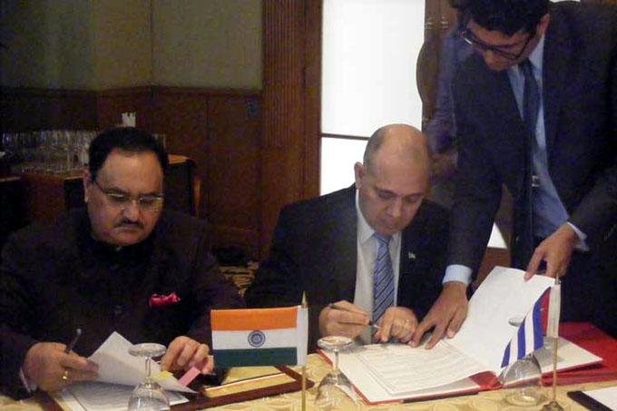 La India y Cuba impulsan la cooperación en materia de salud (+Fotos)