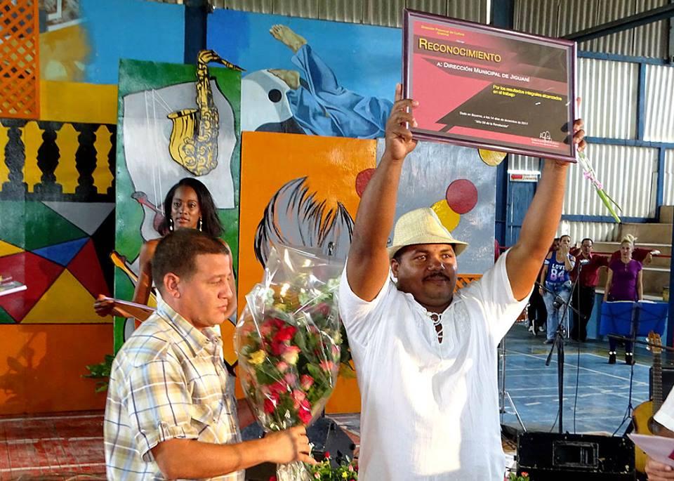 Celebraron en Jiguaní acto provincial por el Día del Trabajador de la Cultura (+ fotos)