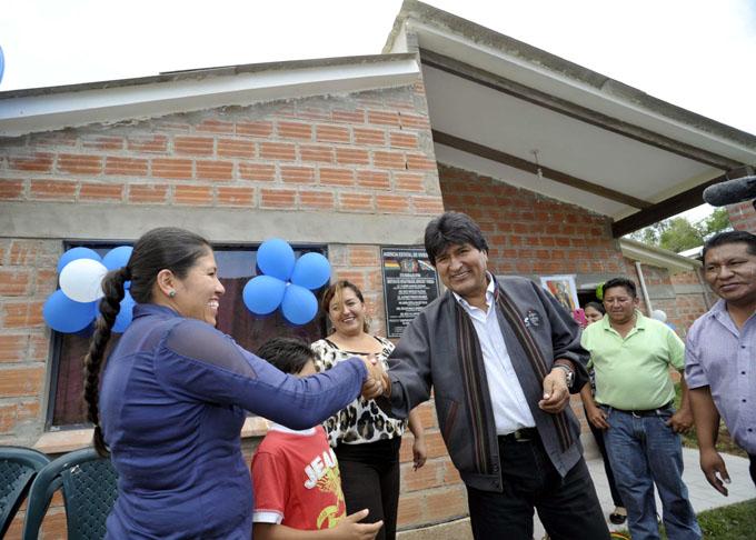 Destaca presidente Morales cambio experimentado en Bolivia