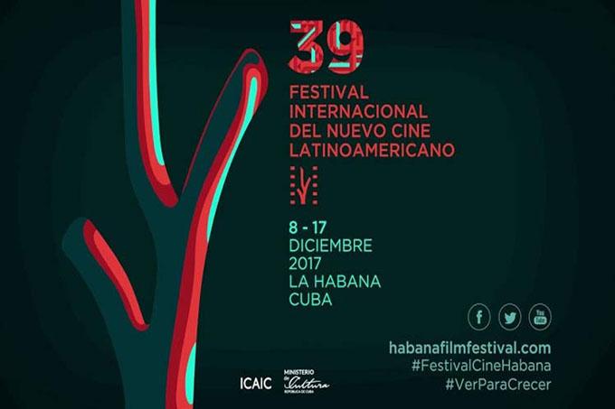 Comienza en Cuba 39 Festival del Nuevo Cine Latinoamericano