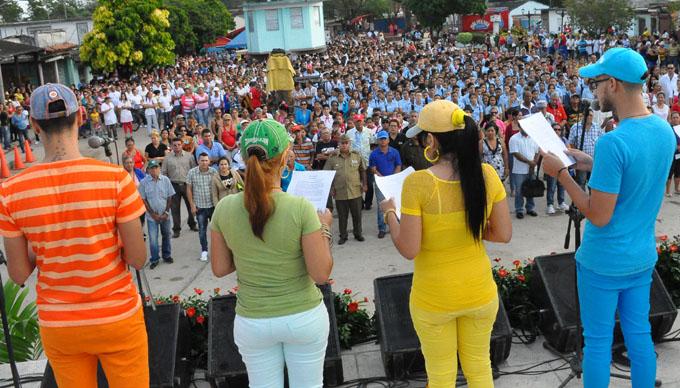 Conmemoran aniversario 59 de la liberación de Jiguaní (+ fotos)