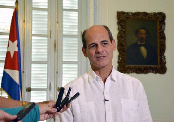 Declaración del viceministro de Relaciones Exteriores Rogelio Sierra Díaz