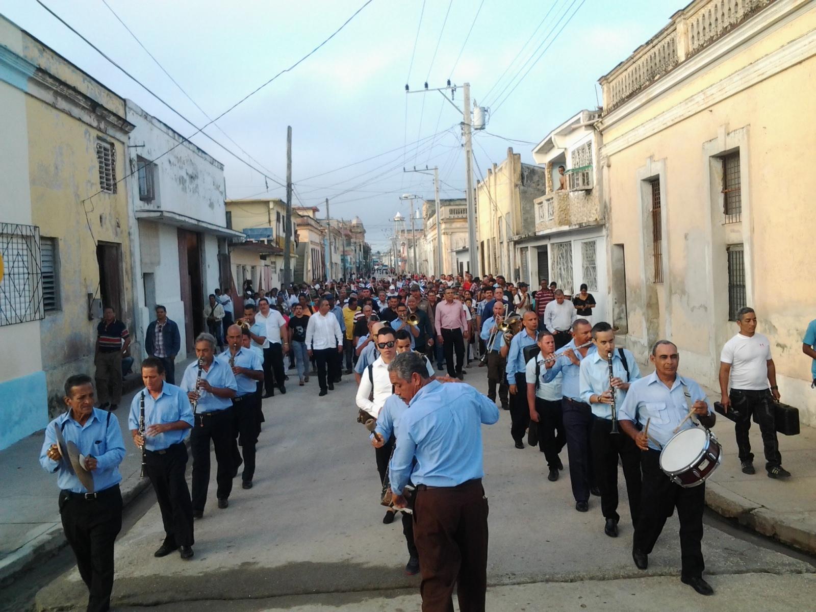 Homenaje manzanillero al General de las Cañas (+ fotos)