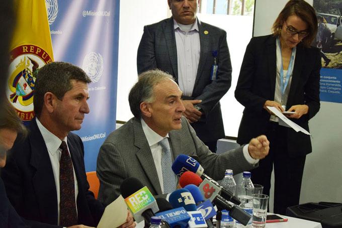 Naciones Unidas señala desafíos en el proceso de paz en Colombia