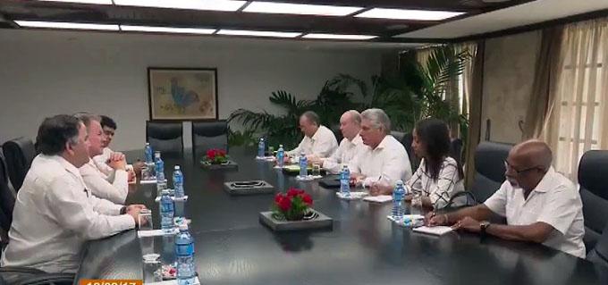 Refuerzan relaciones Cuba y el Programa Mundial Alimentos
