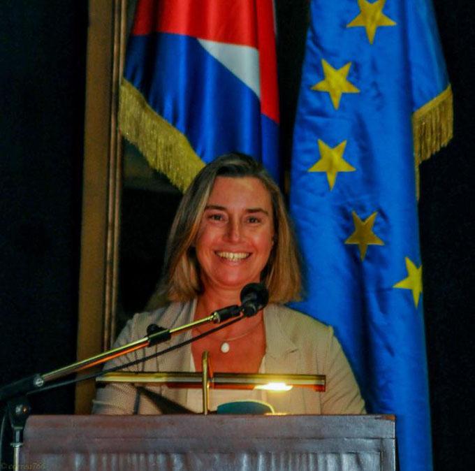 Jefa de diplomacia de UE cumple segundo día de visita oficial a Cuba (+ fotos y video)