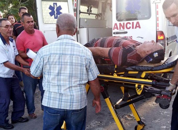 Un fallecido y 14 lesionados en accidente de tránsito (+ fotos)