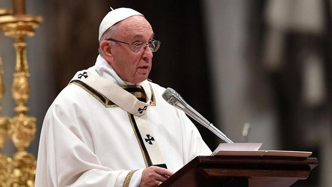 Critica papa Francisco actitudes a partir de pasajes bíblicos