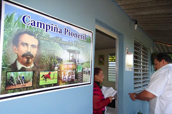 Inauguran campiña pioneril en Bayamo