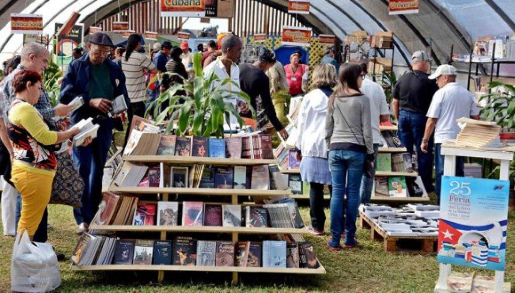 Feria Internacional del Libro en Cuba facilita encuentro de culturas