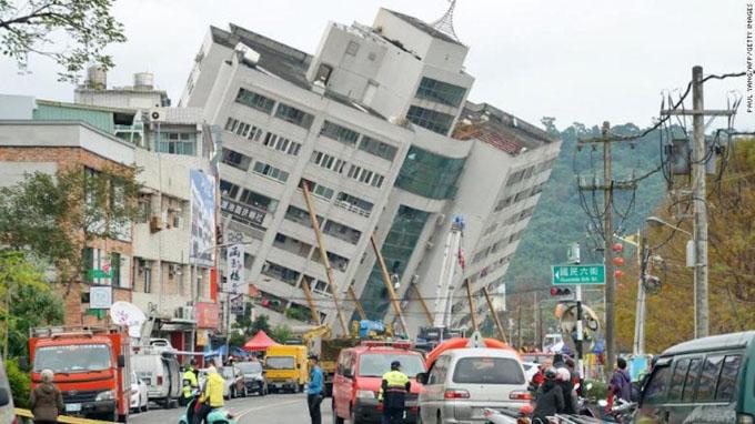 Poderoso sismo en Taiwán deja consternación y muerte