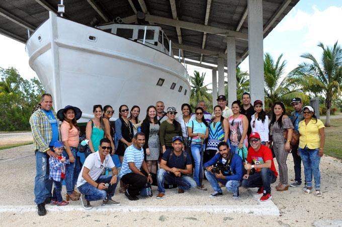 Jóvenes periodistas de Granma por senderos de historia
