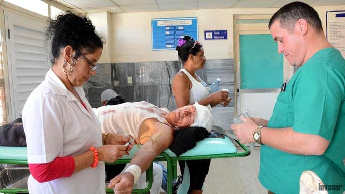 Accidente de ómnibus en Ciego de Ávila deja 35 lesionados (+ fotos)