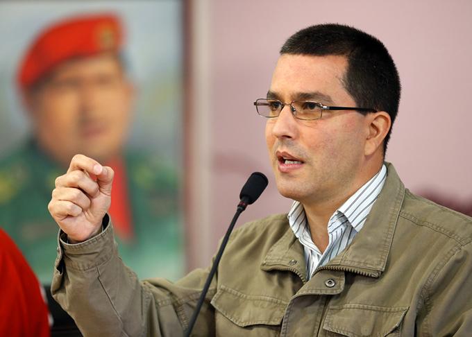 Llegó a Cuba canciller de Venezuela en visita de trabajo
