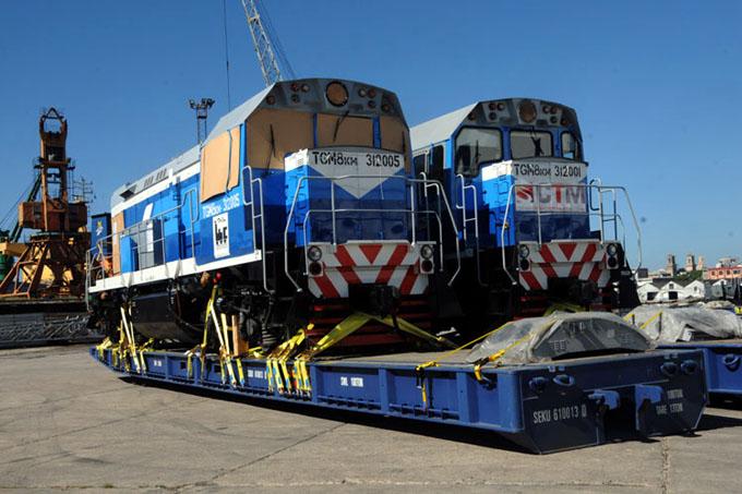 Reciben en Cuba segundo lote de locomotoras rusas