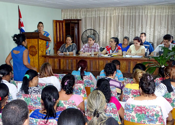 Sesionó Pleno ordinario de la Central de Trabajadores en Granma