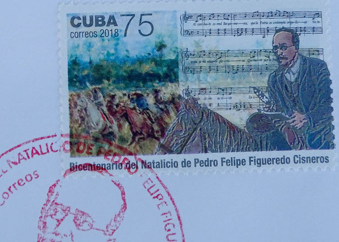 Cancelan sello postal en homenaje a patriota bayamés
