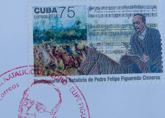 Cancelan sello postal en homenaje a patriota bayamés
