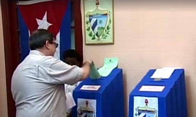 Condenó Canciller cubano intentos por demeritar las elecciones
