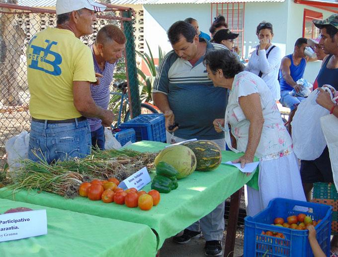 Promueven en Cauto Cristo producción de alimentos orgánicos