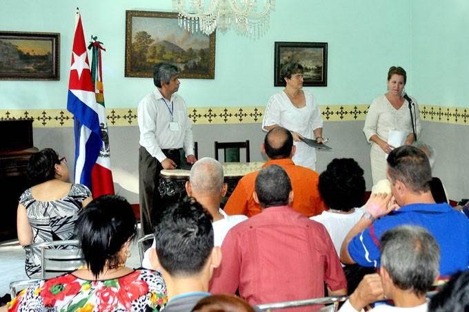 Cursos preeventos como parte de la XI Conferencia internacional de los pueblos y su cultura