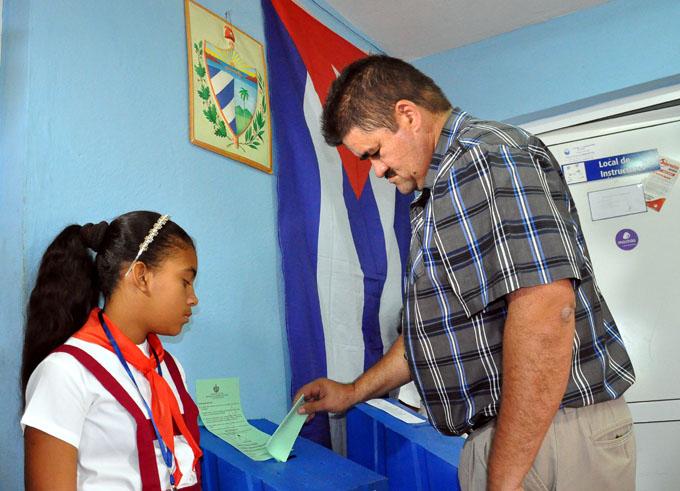 Respaldo popular al sistema político cubano