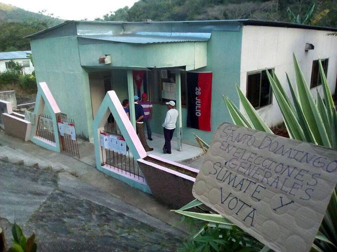 La Sierra Maestra también vota por la Patria (+ fotos)