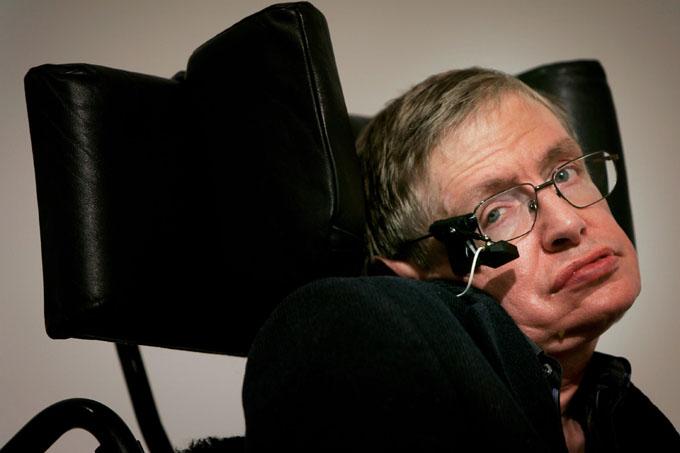 Stephen Hawking, Albert Einstein y Eddie Redmayne