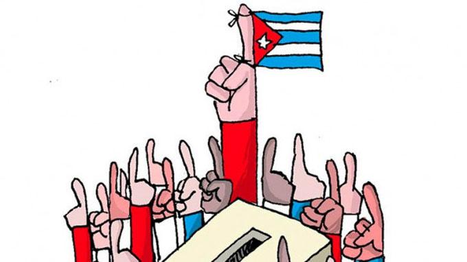 Abren en Cuba colegios para elecciones generales (+ video)
