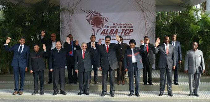 Maduro rinde tributo a Chávez junto a mandatarios del ALBA_TCP (+ video)