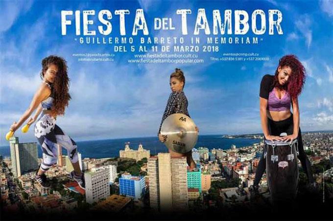 Comienza hoy XVII Fiesta del Tambor en La Habana