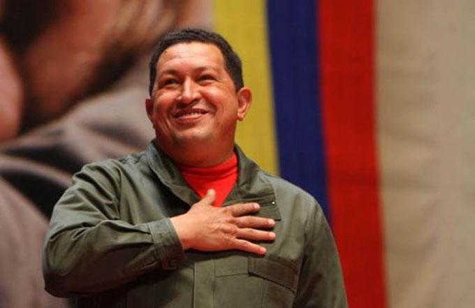 ¡Por Chávez!