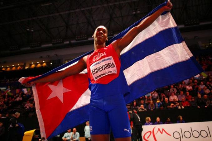 Cuba comparte séptimo lugar del medallero en mundial de atletismo