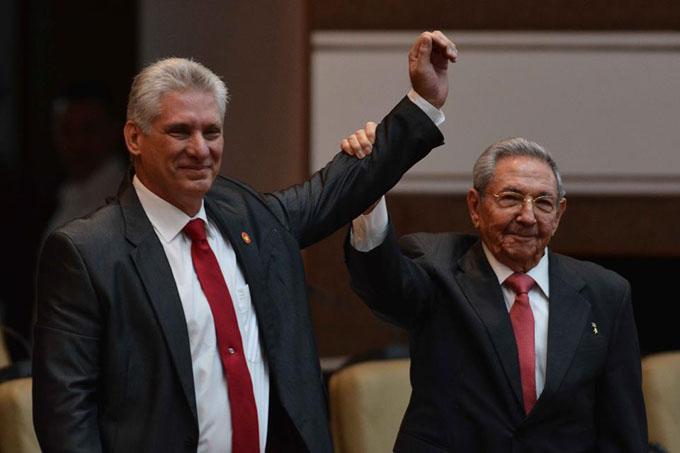 Electo Miguel Díaz-Canel Presidente del Consejo de Estado de Cuba (+ video)