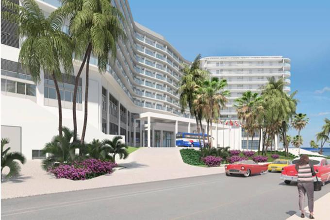 Construirán hoteles en céntrica intercepción habanera de Miramar (+fotos)
