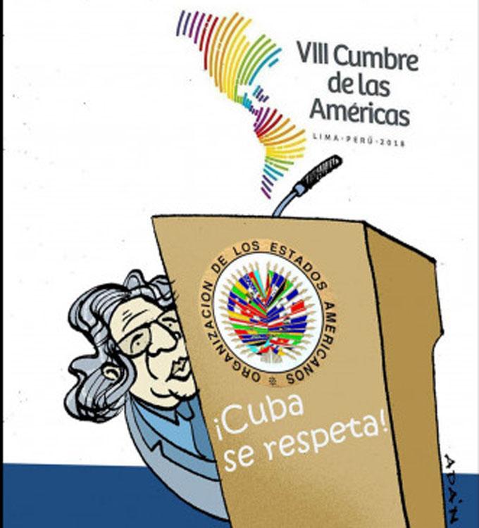 Cuba se retira de inauguración de Cumbre por irrespeto de Almagro