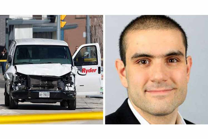 Presunto autor de atropello en Canadá comparece en los tribunales