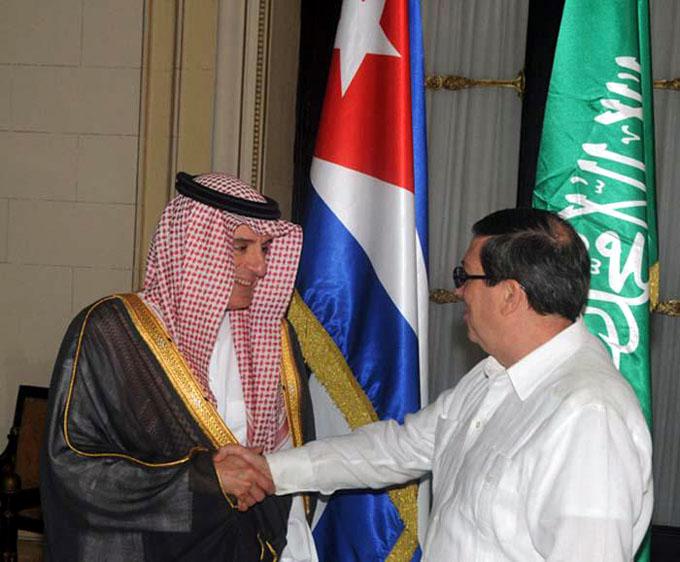Cuba y Arabia Saudita refuerzan vínculos de amistad y cooperación