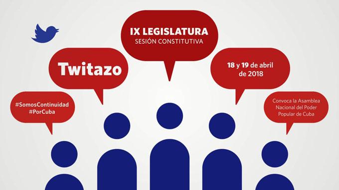 Convoca Asamblea Nacional del Poder Popular a twitazo #SomosContinuidad
