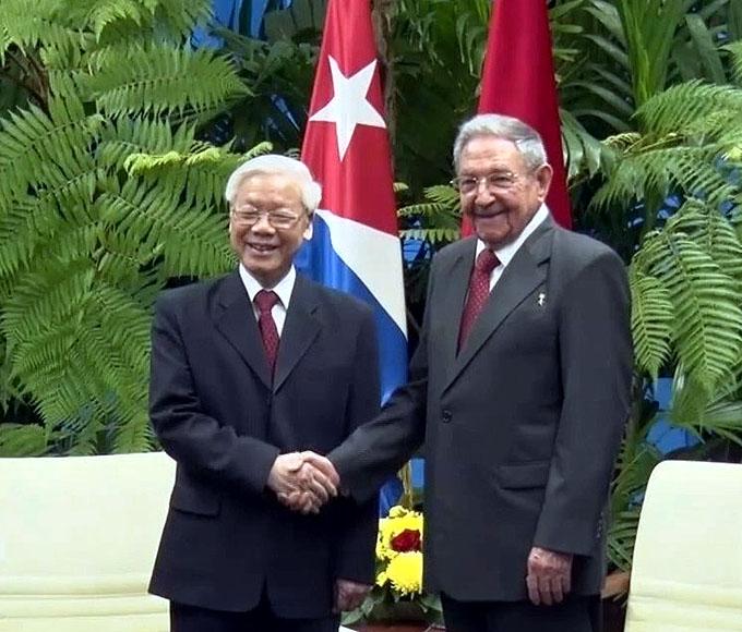 Visita de Trong a Cuba fortaleció cooperación en ciencia-tecnología (+ fotos)