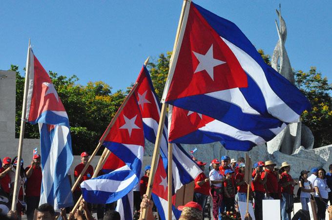 El 1ro. de Mayo en Cuba demostración de apoyo a la Revolución