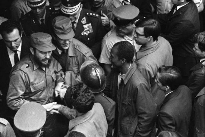 Las fotos inéditas de Fidel en Perú (+ fotos)